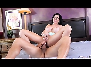 Bigtits mature cockriding on the frame