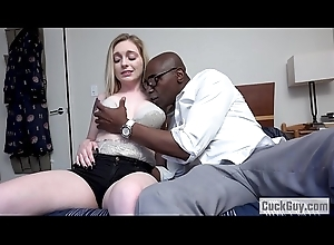 Husband caught on their way Wife engulfing a BBC - Casey Ballerini