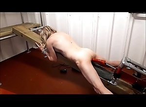 RachelSexyMaid - 15 - gets divest crave from Dungeon fuck machine