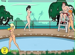 Antenna zoological molests women to hand pool part 2