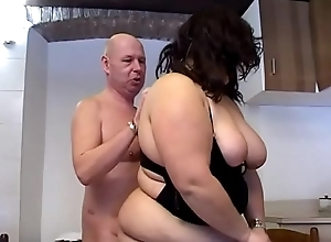 A difficulty chubby girl can't live without cock