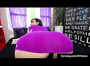 Be in charge Horny Milf Sara Loon Presses Muff With Big Black Dildo!
