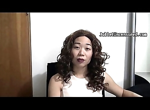 Amateur Oriental Piss Compilation: Peeing Blinking together with Vlogging
