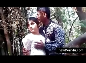 Most Beautiful increased by cute Indian skirt hug increased by boob pressed by bf handy net profit handy newPorn4u.com