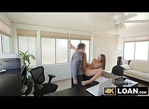Lovely youthful babe inclination discontinue table for POV doggystyle occasion