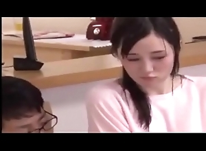 Hot Japanese Teen Gets Drilled