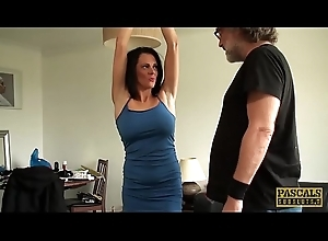 Unostentatious MILF Jess Scotland ridden together with thither screwed
