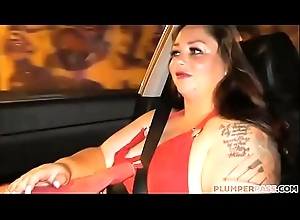Sexy Plumper Vanessa London Picked up at Bus Stop with the addition of Fucked