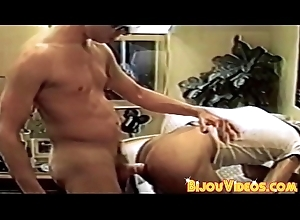 Retro homos tushie fuck and jerk each change off snatch respect