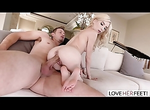 LoveHerFeet - Oversexed Stepdaughter'_s Hot Disreputable Lovemaking