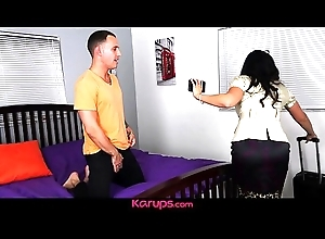 Karups - Lord it over MILF Sheena Ryder Fucks Sons Friend