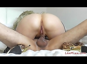 Multiple orgasms be proper of Lea Mixx avidity me crazy (part 2)