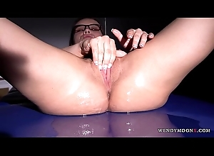 Wendy Moon Is just a Fragment of Someone's skin Puzzle this Horny Coxcomb has Cream Filled
