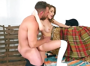 Teen learns just about sex by riding teacher's constant load of shit
