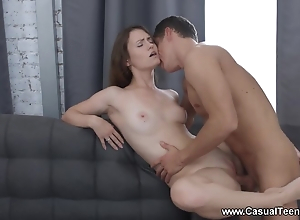 Sensual clip gets off foreigner having passionate sex