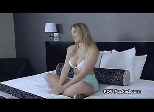 Broad in the beam teat amateur drilled POV style elbow casting